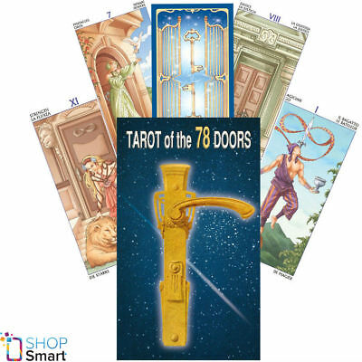 Tarot Of The 78 Doors Deck Cards Platano Esoteric Fortune Telling New