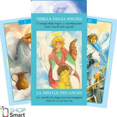 Angel Oracle Cards Deck Esoteric Telling Lo Scarabeo New