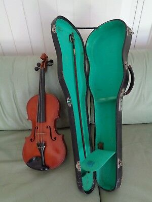 VIOLIN Musical INSTRUMENT with HARD CARRY CASE