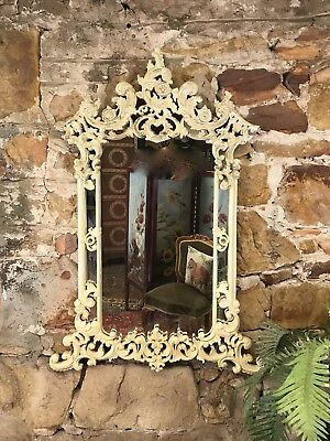 Quality Vintage Antique French Louis Style Bedroom,Hall Mirror~Carved Timber~