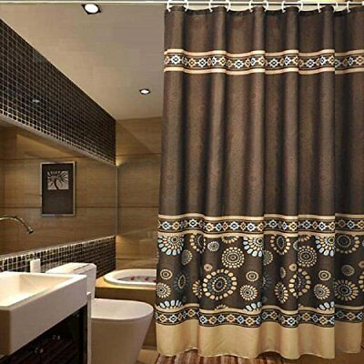 Ufaitheart 54 X 72 Shower Stall Curtain Fabric Waterproo