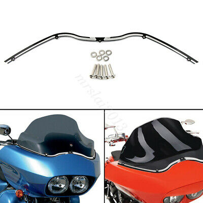 Motorcycle Dual Headlight Windshield Trim Cover For Electra Street Tri Glide
