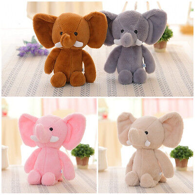 Hot Baby Kids Cute Elephant Soft Plush Toy Stuffed Animal Gift Animals Doll