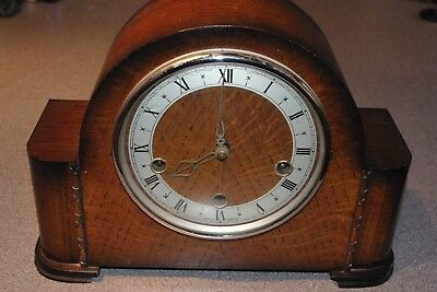 Smiths Of Enfield Mantle Clock Westminster Chimes 8 Day Full Working Order