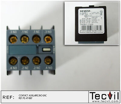 Bloc contact auxiliaire SIEMENS 3RH2911-1FA22    AUXILIARY CONTACT