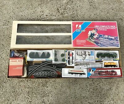Large 1970s Lima Train Set, Still In Box, Never Used Or Set Up, In Ex Condition
