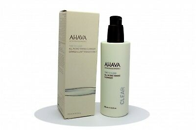 AHAVA TIME TO CLEAR ALL IN ONE TONING CLEANSER 250ML Struccante viso
