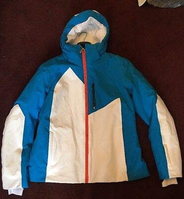 Vist Yang Ladies Ski Jacket Snowboard Coat Blue White Orange Size Xl Uk 16  £500