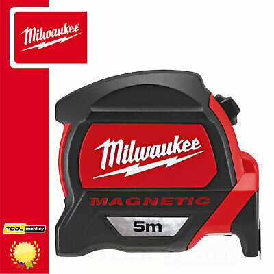 Milwaukee 48227305 GEN2 5m Magnetic Pro Tape Measure - Metric Only