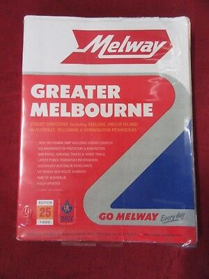 Melway Greater Melbourne Edition 25 1998