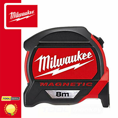 Milwaukee 48227308 GEN2 8m Magnetic Pro Tape Measure - Metric Only