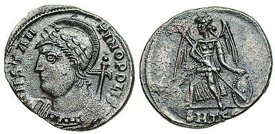 Constantinopolis Commemorative victory on prow from Thessalonica