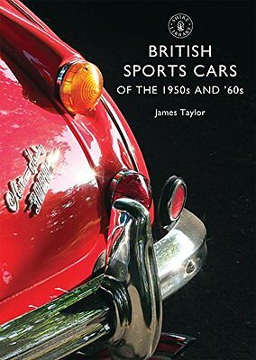 British Sports Cars of the 1950s and '60s (Shire Library) New Paperback Book Jam