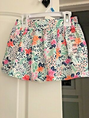 NWT! OSH KOSH skirt with bloomers attached 24 Months