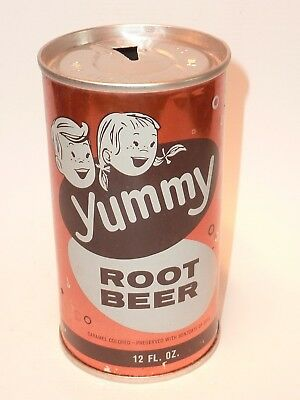 12oz Yummy Root Beer Fan Tab *** Super Clean!! ***