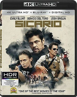 Sicario (4K Ultra HD + Blu-ray + Digital Download) [UHD]