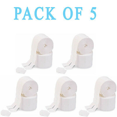 5x Nail Art Polish Remover Lint Free Cleaner Wipe Cotton Pad Manicure NWR2500