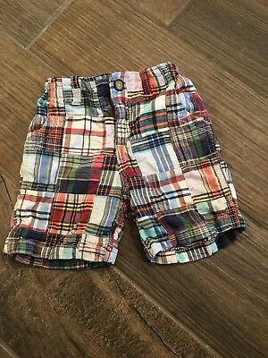 Boys Baby Gap madras Shorts 3t