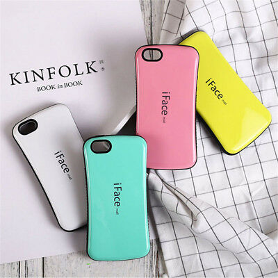 iface Hybrid Durable Anti-skid Hard Case For iPhone X XR XS Max 6 6s 7 8 Plus