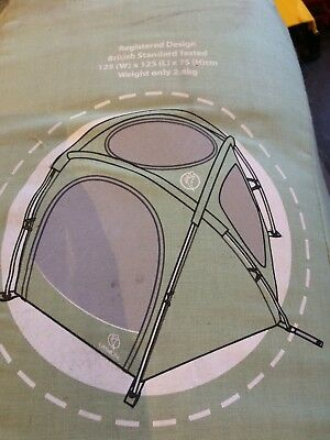Arc3 Travel tent cot, green