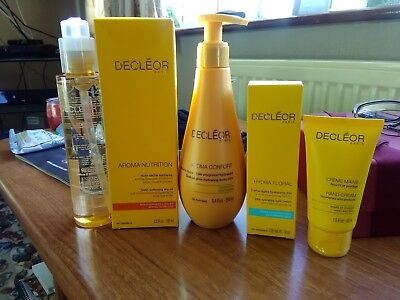 Decleor  Brand new creams, oils and Body Milk Micellar HYDRA FLORAL confort