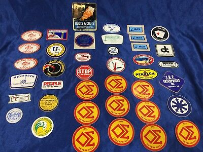 40 Oil Rig Gas Hardhat Stickers Oilfield Gaswell Offshore Welding Diving