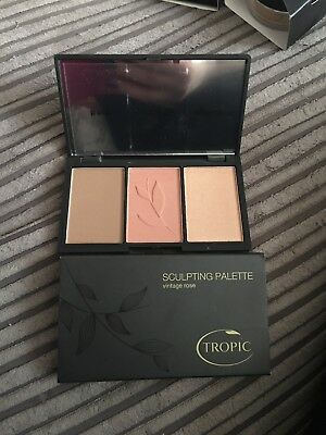 Tropic Skincare Sculpting Palette Vintage Rose Brand New RRP £24