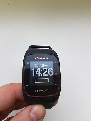 Polar M400 GPS Fitness Running Watch Black Color (Watch Only) #30