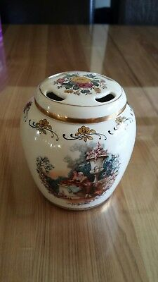 Lord Nelson Pottery Pomander/Potpourri Jar with lid