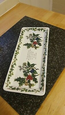 Portmeirion the holly and the ivy sandwich tray