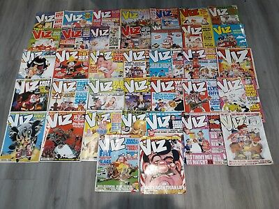 Rare Large Viz Adult Comic collection job lot rare 37 issues