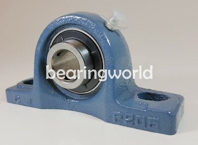 2pcs UCP215-47 Pillow Block shaft size 2-15//16 in Solid Base Housing