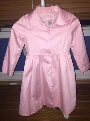 Girl's Janie and Jack long sleeve pink jacket coat size 4-5