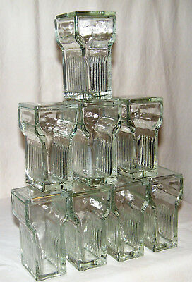 (8) Unused VERTICAL STAINING JARS W/ GLASS LIDS CHEMISTRY All EX!