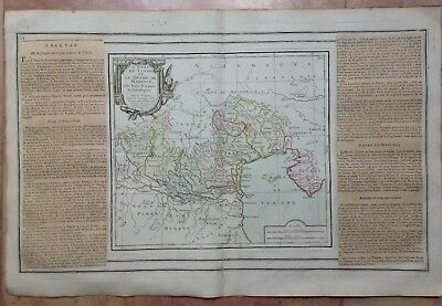 NORTHERN ITALY GULF OF VENEZIA CROATIA 1766 by BRION DE LA TOUR ANTIQUE MAP