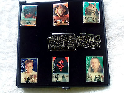 8 x Pin in Box : Star Wars Episode 1