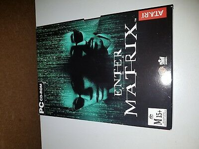ENTER THE MATRIX PC CD ROM Game