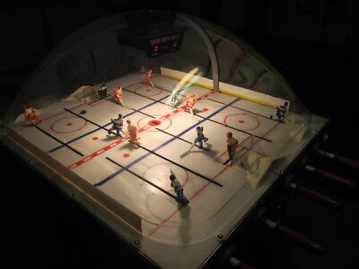 Original 1983 USA vs Russia Chexx Bubble Hockey Arcade Game ICE Miracle On Ice
