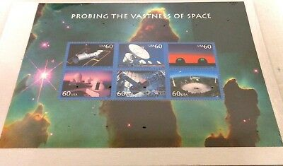 Us Mnh 3409/ Probing The Vastness Of Space 2000/ (6) .60 Cent Stamps