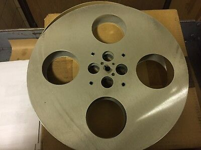35 Mm Aluminum Film Reel 15 Inch With 1/2 Inch Key Way ..new
