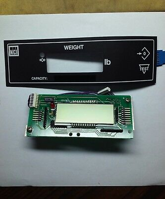 NCI/ WeighTronics..Model 6720.. Scale LCD Display and Key Pad.. New Old Stock