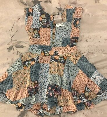 Gorgeous Girls Next Playsuit Age 4 Bnwt