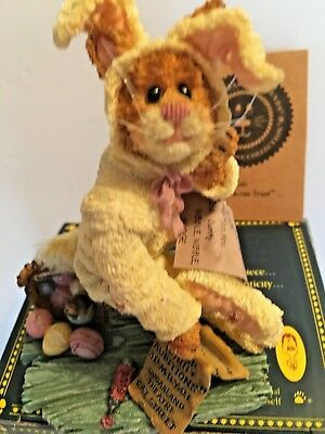 Boyds Purrstone - Lionel Purrimore...Purrfect Audition - #81503 EASTER NEW CAT