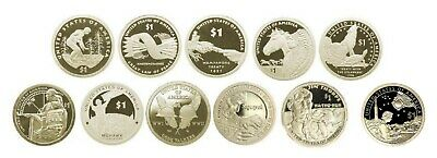2009-2019 Sacagawea Native American 11 Coin S  PROOF Uncirculated Dollar Set