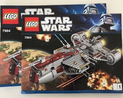 LEGO Star Wars 7964 Republic  Frigate Instruction Books *Manuals ONLY