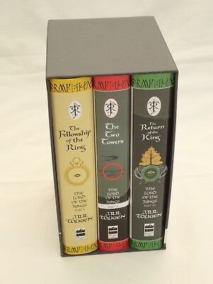 The Lord of the Rings (3 Hardcover Book Box set) J.R.R. Tolkien