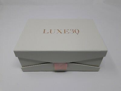 "Wholesale Gift Boxes Cream Luxe30 Printed Jewelry Perfume 2400 Pcs 5"" x 8"" x 3"""