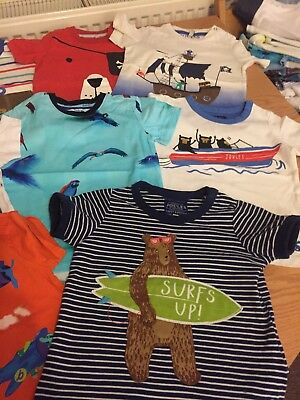 Joules , Ted Baker Tshirt Bundle Size 18-24 Months