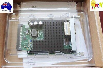 New Cisco VIC3-2FXS/DID 2-port FXS Voice/Fax Card w/ DID 1 Yr Wty., Tax Invoice