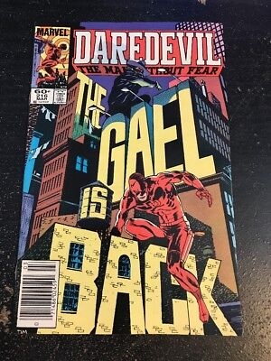 Daredevil#216 Incredible Condition 9.2(1985) Cool!!